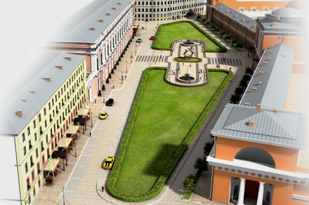 Перестройка: 5 проектов квартала вокруг Конюшенной площади. Изображение № 8.