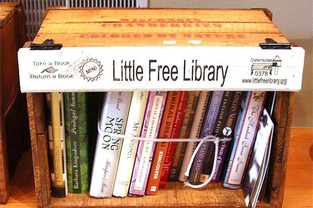 Идеи для города: Публичные библиотеки-скворечники. Изображение № 5.