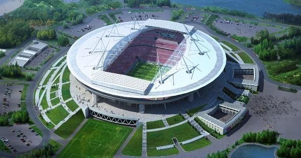 Вид на стадион с высоты птичьего полета. Изображение № 15.