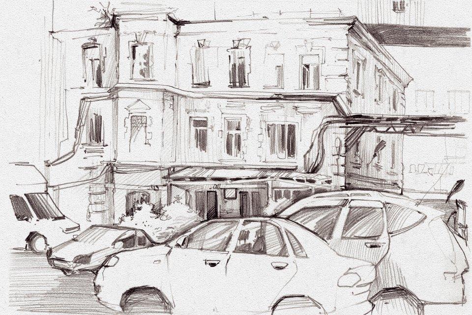 Клуб рисовальщиков: «Красный Октябрь». Изображение № 5.
