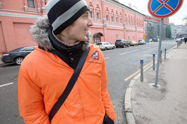 В центре Москвы заработала первая платная парковка. Изображение № 12.