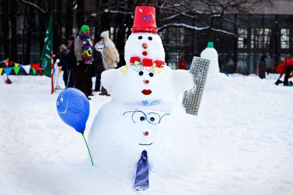Люди в городе: «Арт-битва снеговиков». Изображение № 2.