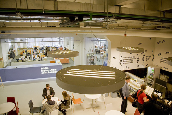 Изображение 1. Новое Место: Британская высшая школа дизайна.. Изображение № 1.