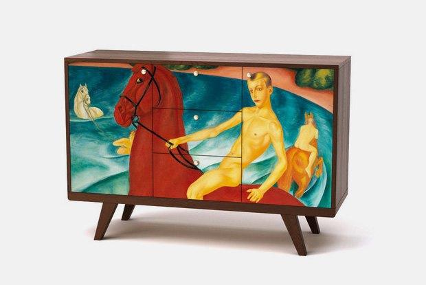 Эксперты — о новой коллекции мебели, посвящённой русским художникам. Изображение № 5.