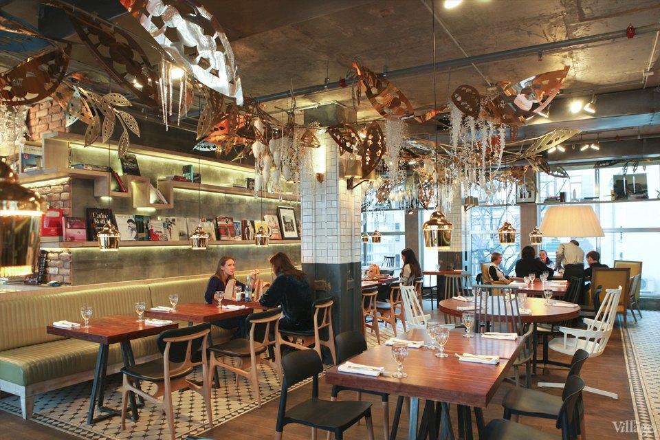 Фоторепортаж: Новогодние интерьеры ресторанов и кафе . Изображение № 11.
