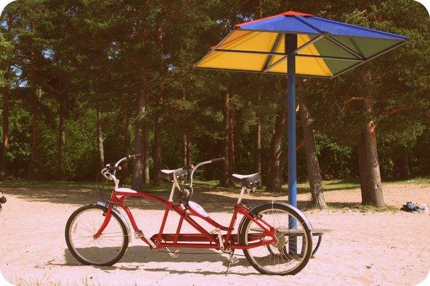 В Сестрорецке открылся велопрокат с экскурсиями по городу. Изображение № 1.
