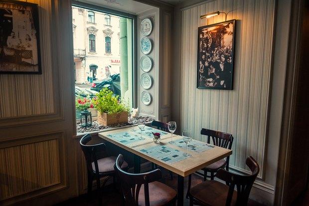 Probka обновила ресторан в отеле «Гельвеция». Изображение № 1.