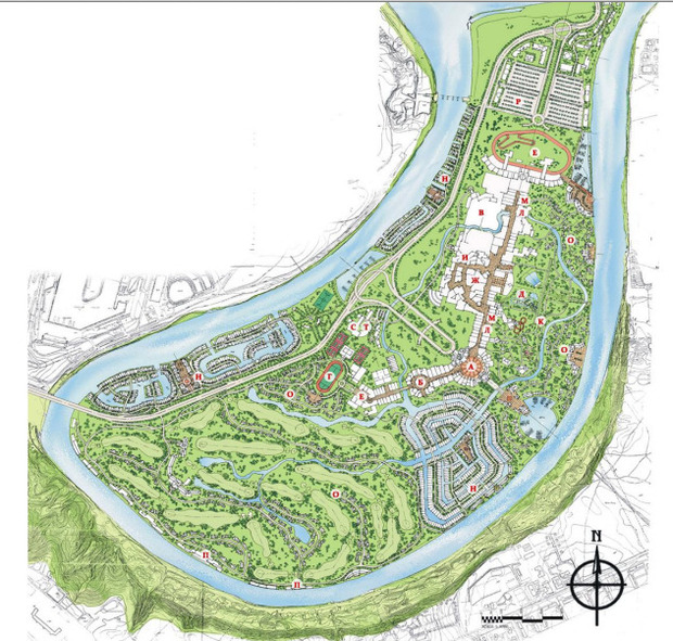 В Мневниках будет парк развлечений, сафари и этнодеревня. Изображение № 17.