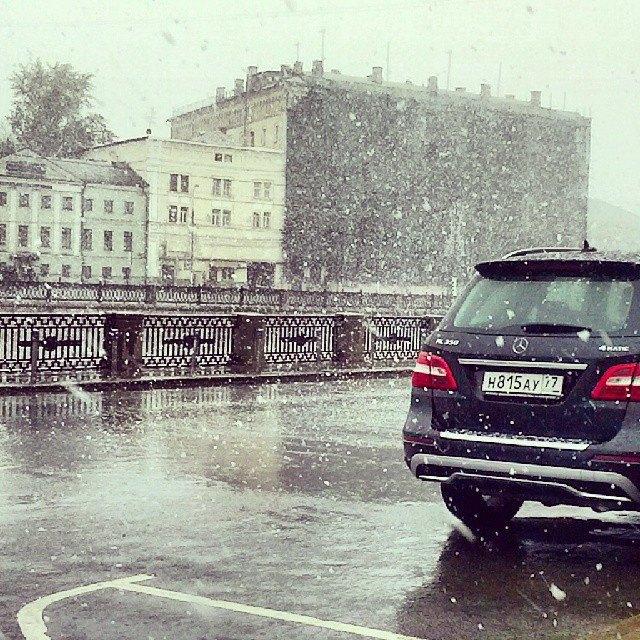 Майский снегопад вснимках Instagram. Изображение № 11.