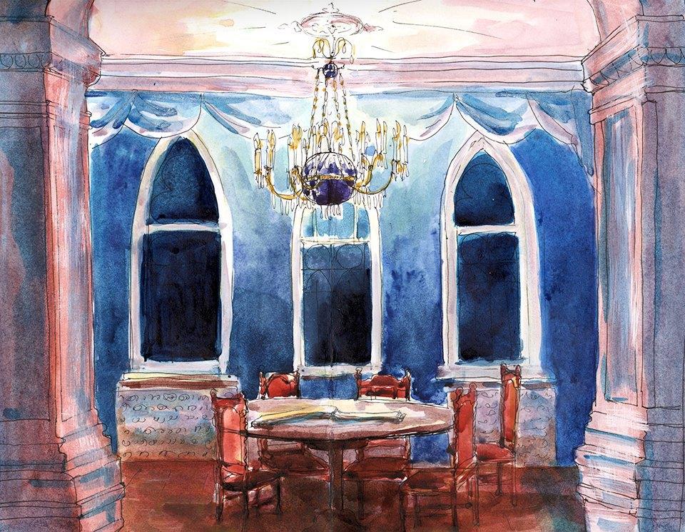 Клуб рисовальщиков: Особняк 1896 года. Изображение № 1.