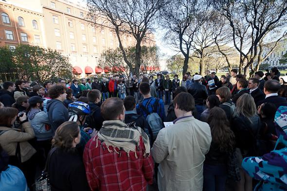 Люди в городе: Чего хотят митингующие на Исаакиевской . Изображение № 2.