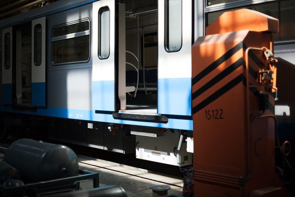 Новые вагоны метро. Изображение № 16.