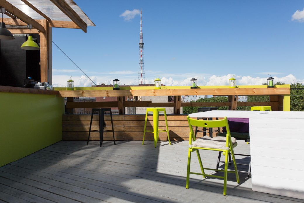 Botanique Bar на крыше «Ленполиграфмаша». Изображение № 6.