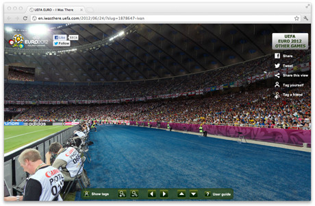 УЕФА предлагает отметить себя на интерактивной фотографии с Евро-2012. Изображение № 3.