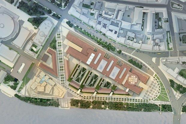 Суд идёт: четыре проекта квартала на месте «Набережной Европы». Изображение № 13.