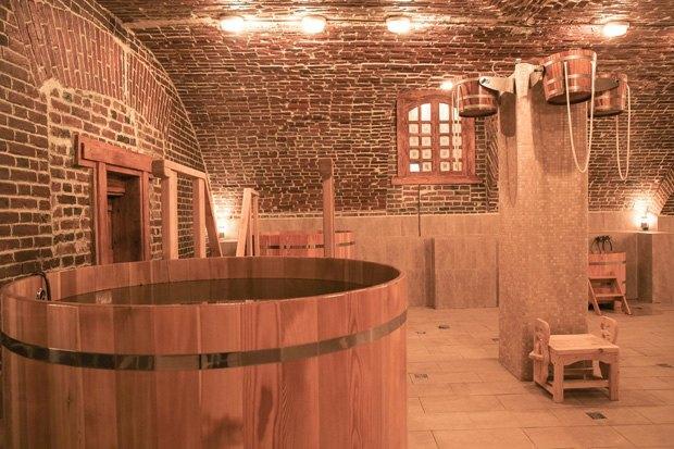 На «Красном Октябре» открыли баню. Изображение № 3.