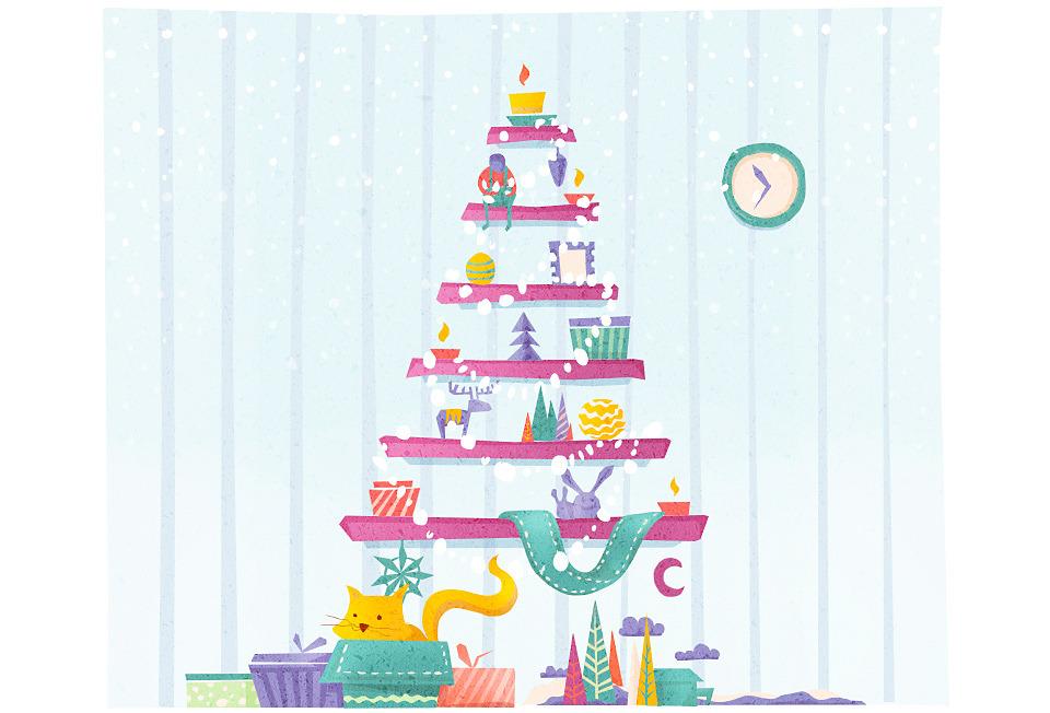 Домпросвет: Как украсить квартиру к Новому году. Изображение №7.