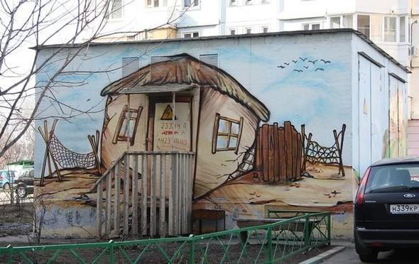 Юго-восток Москвы украсят граффити. Изображение № 6.