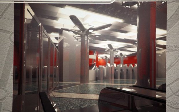 Станция «Улица Савушкина» . Изображение № 2.