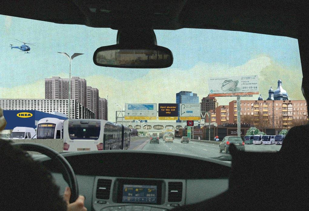 Вид на город МКАД, проекция на 2030 год.. Изображение № 20.