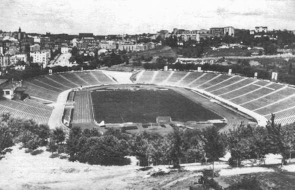 Стадион образца 1950 года. Изображение № 22.