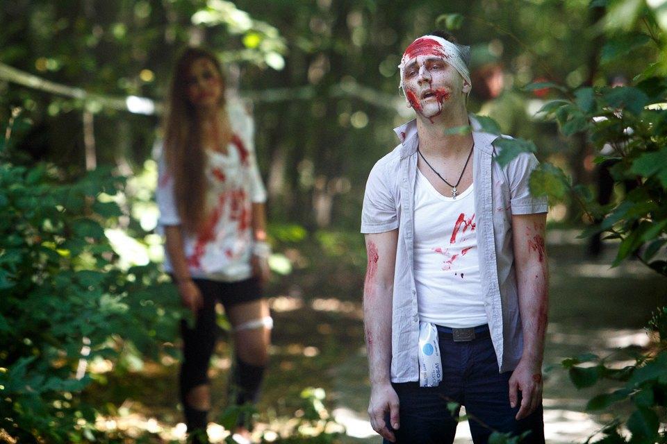 Забег зомби в «Сокольниках». Изображение № 13.