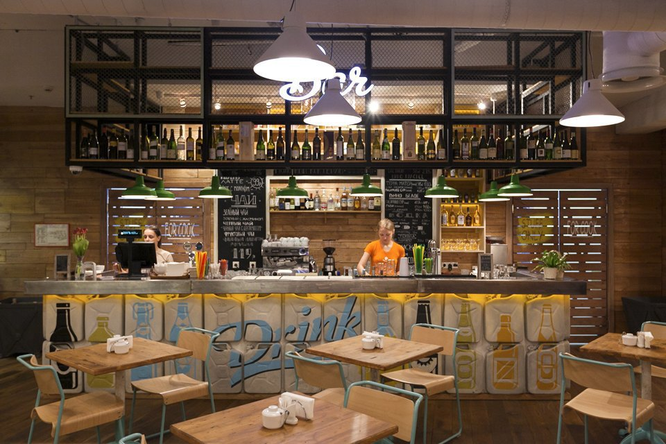 Ресторан самообслуживания ObedBufet . Изображение № 14.