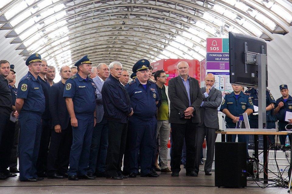 Учения в петербургском метро по сценарию московской катастрофы. Изображение № 13.
