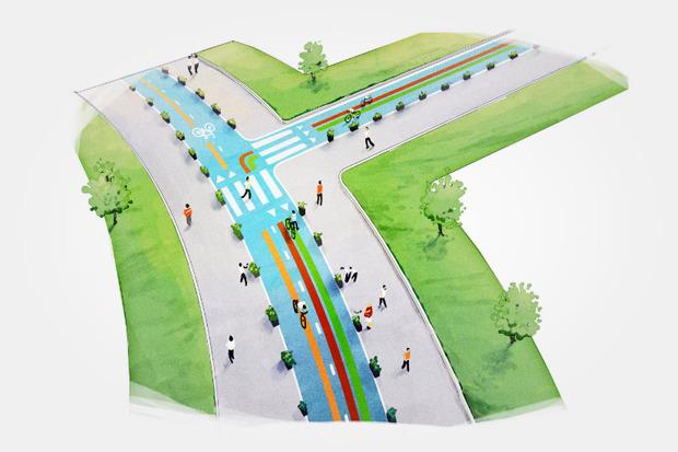 Власти рассказали оперспективах велодвижения вМоскве. Изображение № 20.