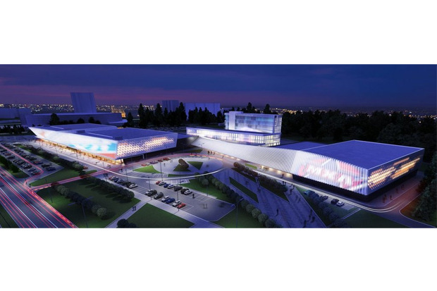 Эскизный проект спортивного комплекса хоккейного клуба «СКА» . Изображение № 1.