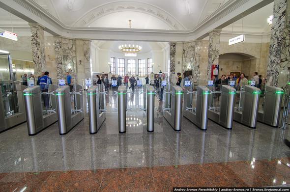 Станция «Парк Культуры» открылась для пассажиров. Изображение № 5.