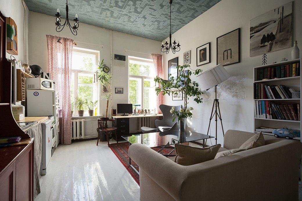 Квартира на пересечении Мойки иГороховой без кухни. Изображение № 1.