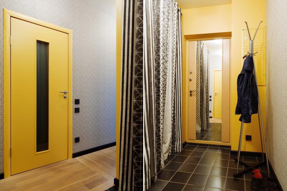 Однокомнатная холостяцкая квартира сумным зонированием. Изображение № 13.
