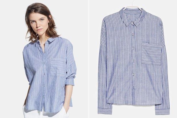 Где купить женскую рубашку: 6вариантов от 2500 до 7900рублей. Изображение № 2.