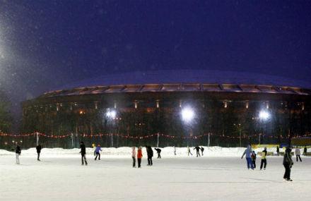 Лёд тронулся: Зимние катки в Москве. Изображение № 29.