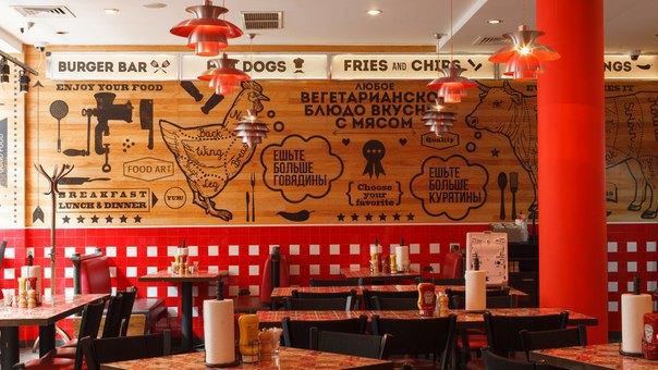 На месте «Советского дайнера» в Большом Черкасском переулке открылась бургерная The Burger Co. Изображение № 3.
