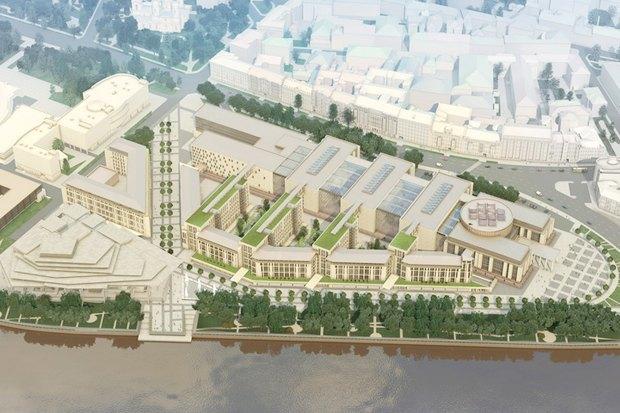 Суд идёт: четыре проекта квартала на месте «Набережной Европы». Изображение № 11.
