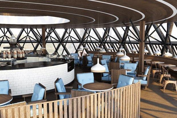 Подобные интерьеры начнут появляться в кофейнях сети Traveler's Coffee в 2014 году. . Изображение № 8.