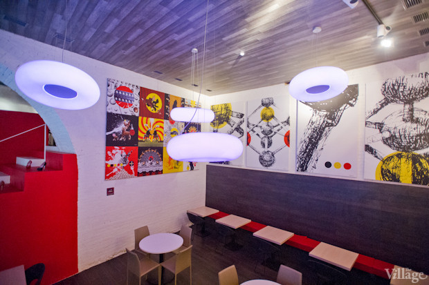 Новое место (Киев): Ресторан Belgianartzone. Изображение №14.