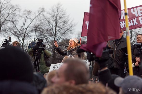 Фоторепортаж: Митинг против фальсификации выборов в Петербурге. Изображение № 21.