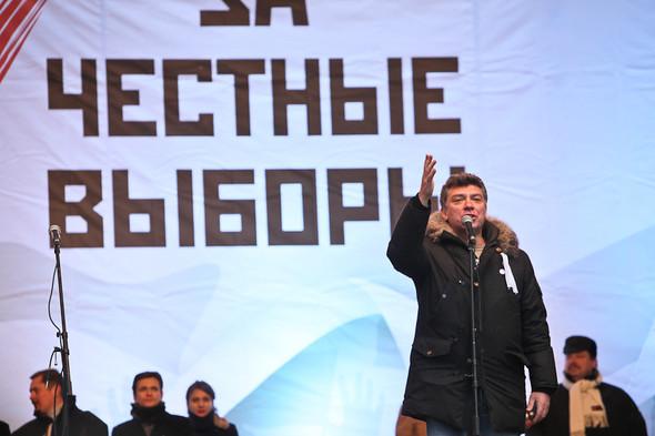 Митинг «За честные выборы» на проспекте Сахарова: Фоторепортаж, пожелания москвичей и соцопрос. Изображение № 30.