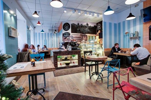 Напротив финского консульства открылось кафе «Е.Д.Аикофе». Изображение № 6.