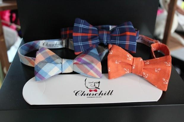 На Грузинском Валу открылся шоу-рум галстуков-бабочек Churchill. Изображение № 1.