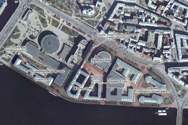 Суд идёт: четыре проекта квартала на месте «Набережной Европы». Изображение № 1.