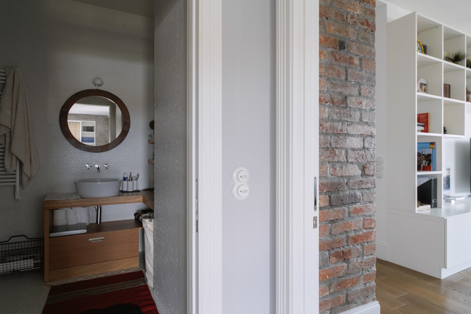 Четырёкомнатная квартира в американском стиле для семьи сдвумя детьми. Изображение № 29.