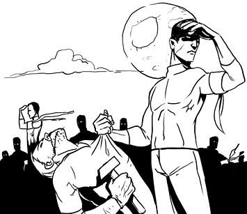 Хранители: Городские супергерои и антигерои. Изображение №5.