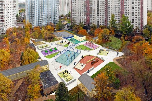 UrbanUrban и «Вышка» обустроят двор в Тропарёве-Никулине. Изображение № 2.
