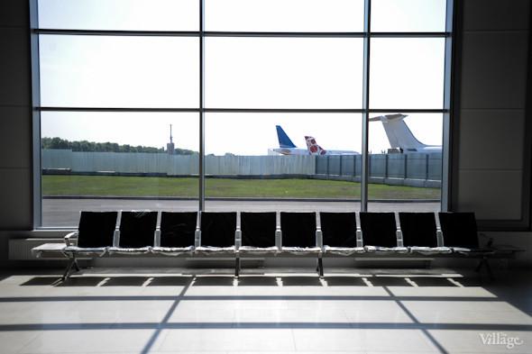 Фоторепортаж: Новый терминал аэропорта Киев — за день до открытия. Зображення № 27.