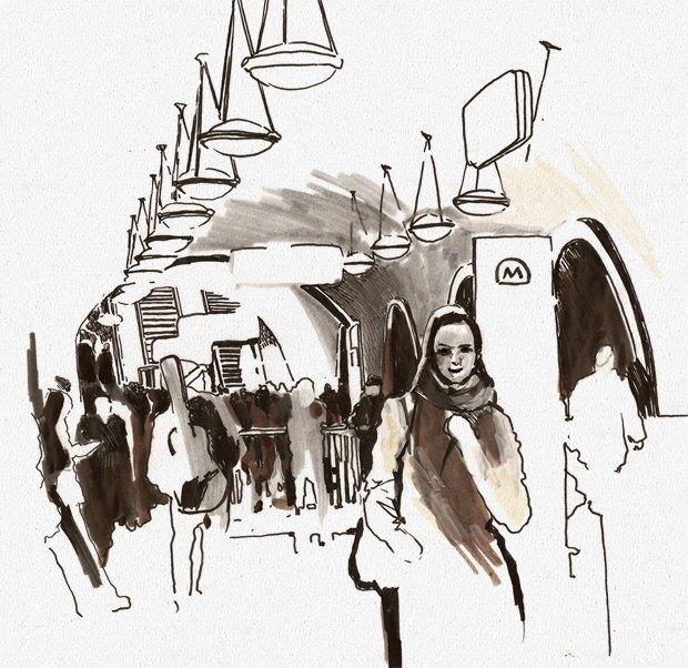 Клуб рисовальщиков: Метро. Изображение № 8.