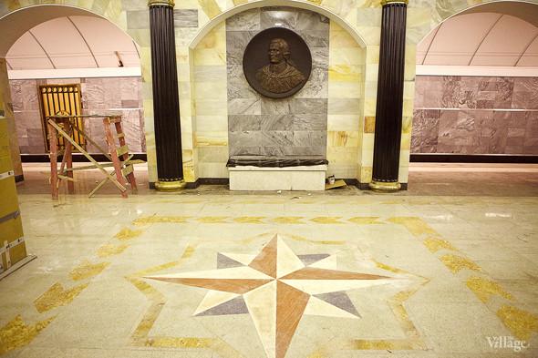 Фоторепортаж: Станция метро «Адмиралтейская» изнутри. Изображение № 12.